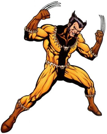 Fang Wolverine Costume